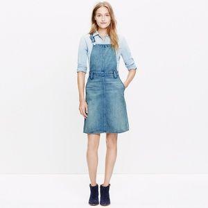 Madewell Overall Pencil skirt jumper denim M